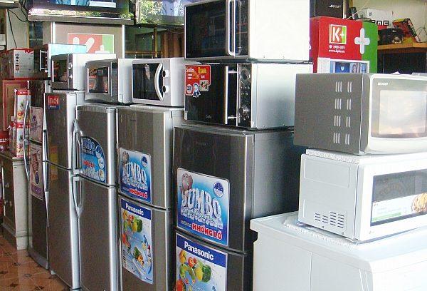 Mua bán thanh lý đồ cũ điện lạnh Bình Dương